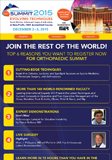 Top 6 Reasons You Want To Register Now For Orthopaedic Summit