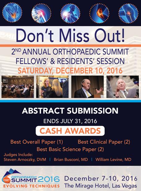 orthopaedic-summit-2016-residence-fellows
